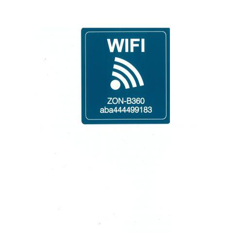 Placa gravada wifi